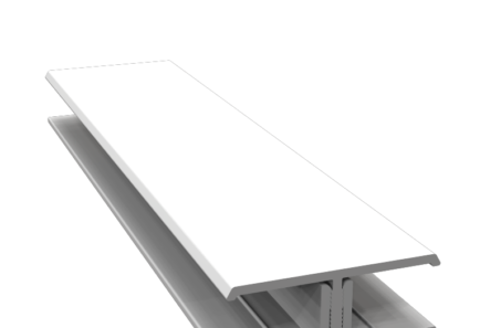 Fortex H Joining Trim 3m Length